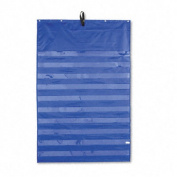 Original Pocket Chart with 10 Clear Pockets, Sturdy Grommets, Blue, 34 x 52