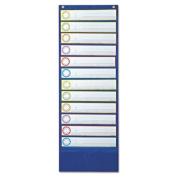 CARSON DELLOSA CD-158002 DOUBLE SMART POCKET CHART POCKET CH ARTS - REGULAR ALL