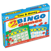 Two Bingo Games, Time/Money, Ages 6 and Up