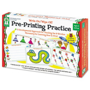 Write-On/Wipe-Off Pre-Printing Practise Activity Set, Ages 4 and Up