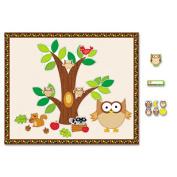 Carson Dellosa CD-144196 Owl Bulletin Board Essentials Set