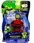 "Ben 10 Alien Force 4"" Alien Collection Figure Brain Storm"