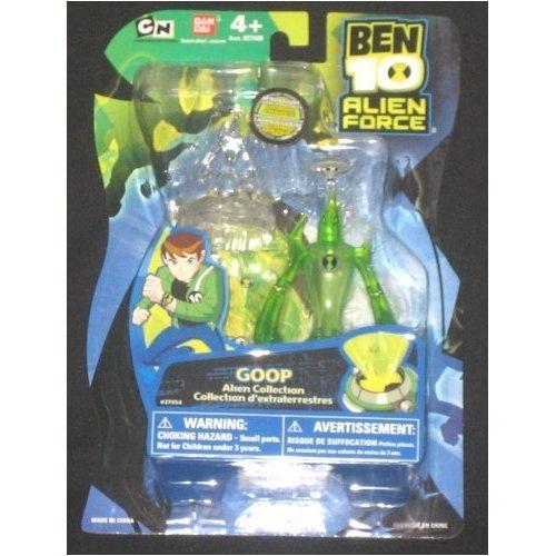 """Ben 10 Alien Force 4"""" Alien Collection Figure Goop"""