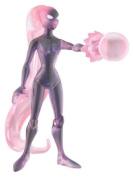 Ben 10 Alien Force 10cm Action Figure Gwen Anodite