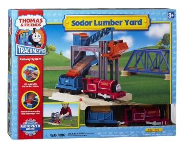 Thomas Amp Friends Trackmaster Sodor Lumber Yard