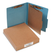 Acco Brands- Inc. ACC15024 Classification Folders- 2in. Exp- Letter- 1 Partition- Sky Blue