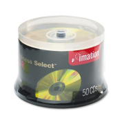 Business Select CD-R Discs, 700MB/80min, 52x, Spindle, Gold, 50/Pack