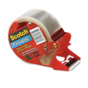 Scotch(R) Super Strength Mailing Tape With Dispenser, 7.6cm .Core, 4.8cm . x 38.2 Yd., Clear