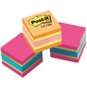 3M 20513PK Mini Cubes 2 x 2 Assorted Ultra Colors 3 400-Sheet Pads/pks