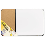 Post-it Sticky Cork And Non-Magnetic Dry-Erase Combination Board, 60cm x 90cm