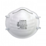 3M OH&ESD 142-8200 3M Particulate Respirator 8200 N95