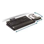 Sit/Stand Easy Adjust Keyboard Tray, Highly Adjustable Platform,, Black