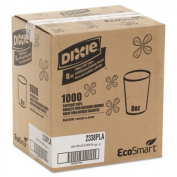 Dixie 2338PLA EcoSmart Hot Cups- PLA Lined Paper- Viridian- 8 oz.- 1000/Carton