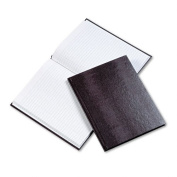 Blueline A7BURG Executive Notebook- College/Margin Rule- 9-1/4 x 7-1/4- WE/BY- 75 Sheets