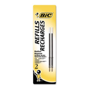 Refill for Velocity, A.I., Pro+ Retractable Ballpoint, Medium, BLK, 2/Pack