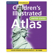 Rand McNally Schoolhouse Children's U.S. Atlas, Hardcover, 112 Pages