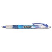 Liquid Flair Porous Point Stick Pen, Blue Ink, Medium, Dozen
