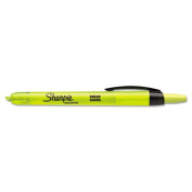 Accent Retractable Highlighters, Chisel Tip, Fluorescent Pink
