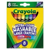 . Washable Crayons, Large.