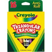Triangular Crayons 16 Colours Box Triangular Crayons
