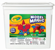 Model Magic Modeling Compound, 8 oz each Blue/Red/White/Yellow, 2lbs