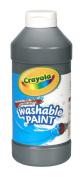 . Washable Paint, Black, 470ml
