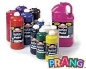 Prang Ready-to-Use Liquid Tempera Paint, 470ml Bottle, Orange