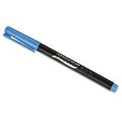 Brush Pens, Flexi-Tip, Six Assorted Colors, 6/Set