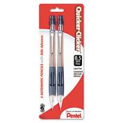Pentel PD347TC Quicker Clicker Mechanical Pencil 0.7 mm Transparent Blue Barrel