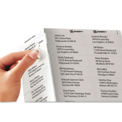 Avery 5630 Laser Address Labels 1 x 2-3/4 Clear 750/Box