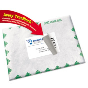 Avery 8168 Shipping Labels with TrueBlock Technology- 3-1/2 x 5- White- 100/Pack