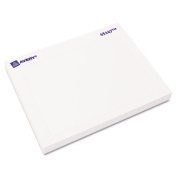 Name Badge Label Pads, 2-7/16 x 3-3/8, White, 40/Pack