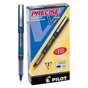 Precise V7 Roller Ball Stick Pen, Precision Point, Blue Ink, .7mm, Dozen