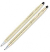 Classic Century Ballpoint Pen & Pencil Set, 10 Kt. Gold Filled