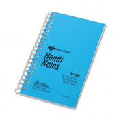Wirebound Memo Book, Narrow Rule, 3 x 5, White, 60 Sheets