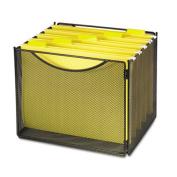 Desktop File Storage Box, Steel Mesh, 12-1/2w x 11d x 10h