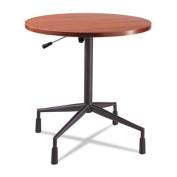 "RSVP Series Pneumatic Table Base, 28"" dia. x 27-3/4 to 36-3/4h, Black"
