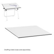 Drafting Table Top, Rectangular, 48w x 36d, White
