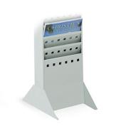 Safco 4323GR Base For Steel Magazine Rack - Gray
