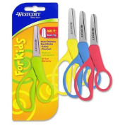 "Kids Scissors, 5"" Blunt, Assorted Colors"