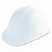 Acme United Corporation Safety Hat, Versatile design, Pin Lock Adjustment, White