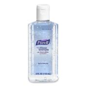 Purell 9651-24 Instant Hand Sanitizer- 4-oz. Flip-Cap Bottle- 24/Carton
