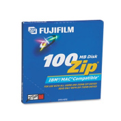 Fuji IBM/Mac Compatible ZIP Disc, 100MB