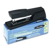 Light-Duty Desk Stapler, 20-Sheet Capacity, Black