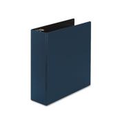 "Durable Binder with Slant Rings, 3"" Capacity, Navy Blue"