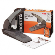 Heavy-Duty Stapler, 180-Sheet Capacity, Black/Beige