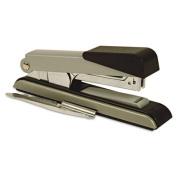 Bostitch B8 PowerCrown Flat Clinch Premium 40 Sheet Metal Stapler, Black