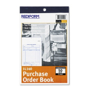 Purchase Order Book, Bottom Punch, 5 1/2 x 7 7/8, Two-Part Carbonless, 50 Forms