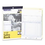 Sales Bok, 5 1/2 x 7 7/8, Carbonless Duplicate, 50 Sets/Book