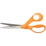 Home and Office Scissors, 8 in. Length, 3-1/2 in. Cut, Right Hand